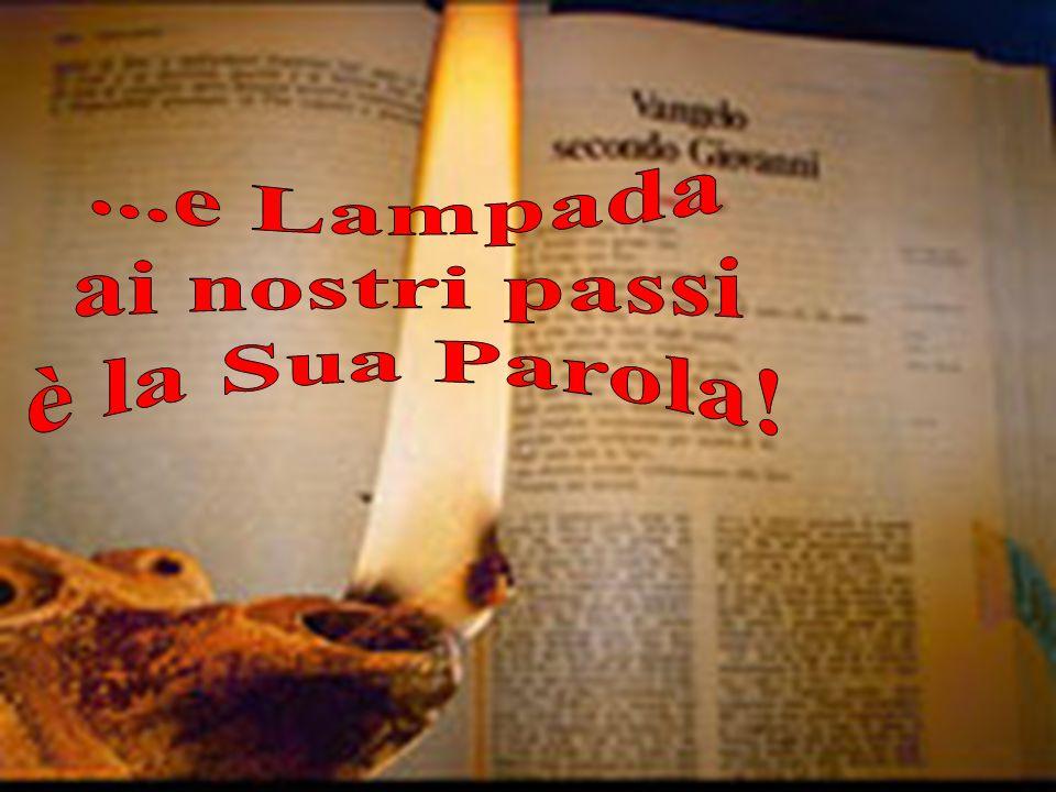 ...e Lampada ai nostri passi è la Sua Parola!