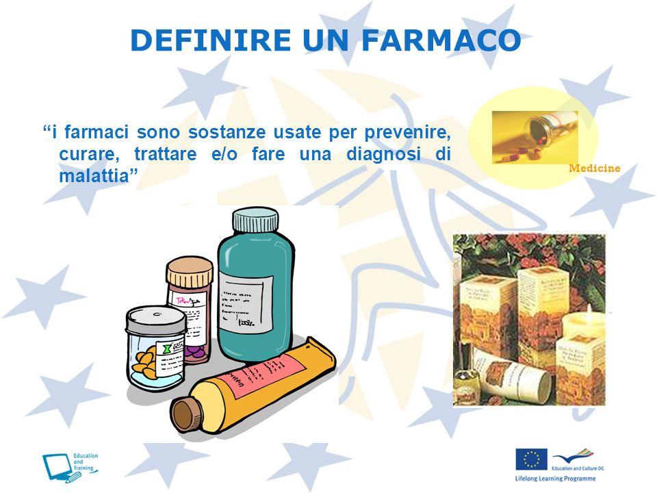 DEFINIRE UN FARMACO Medicine.