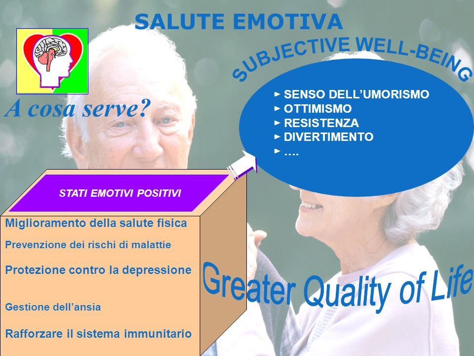 SUBJECTIVE WELL-BEING STATI EMOTIVI POSITIVI