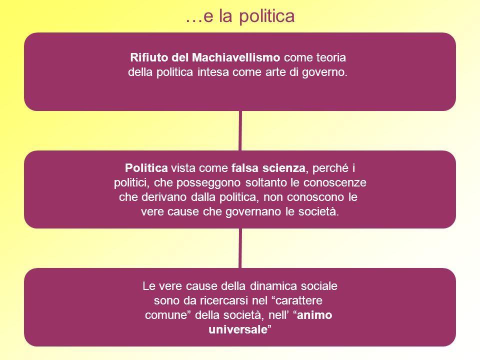 …e la politica