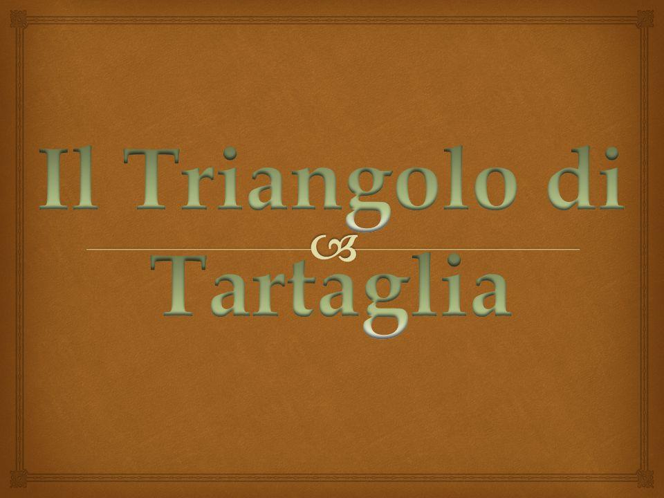 Il Triangolo di Tartaglia