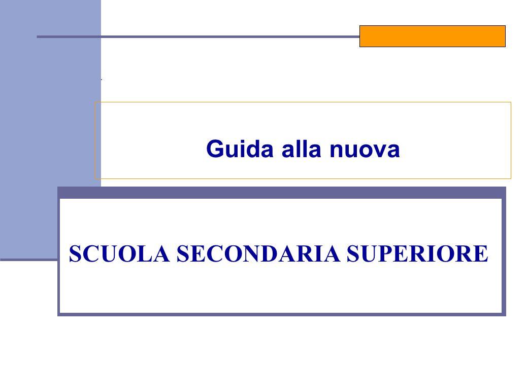 SCUOLA SECONDARIA SUPERIORE