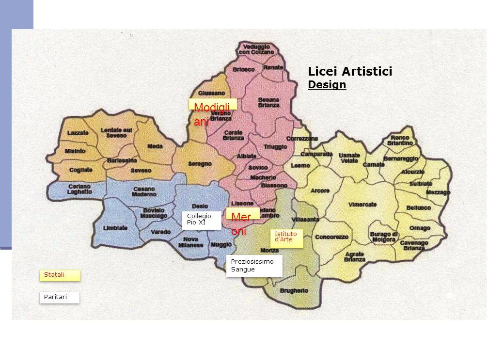 Licei Artistici Modigliani Meroni Design Collegio Pio XI
