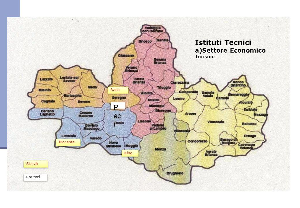 Istituti Tecnici Paci a)Settore Economico Turismo Bassi Morante King
