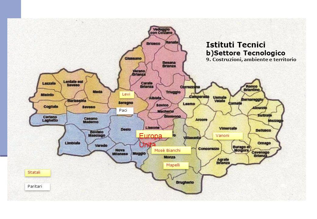Istituti Tecnici Europa Unita b)Settore Tecnologico