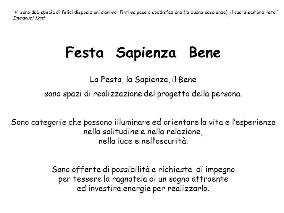 Festa Sapienza Bene La Festa, la Sapienza, il Bene