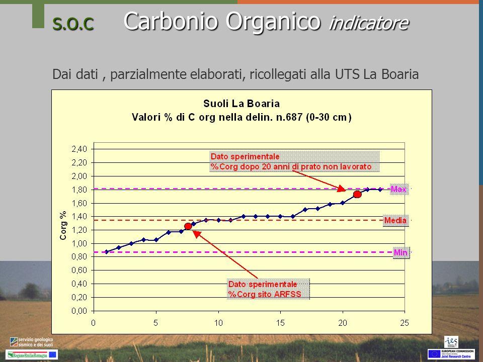 S.O.C Carbonio Organico indicatore