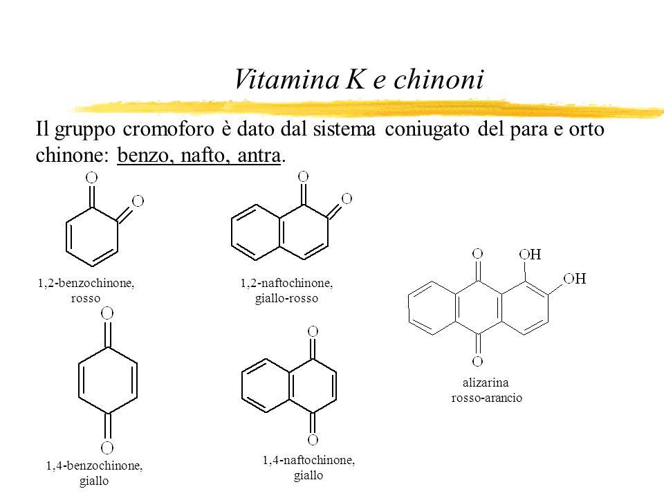 1,2-naftochinone, giallo-rosso