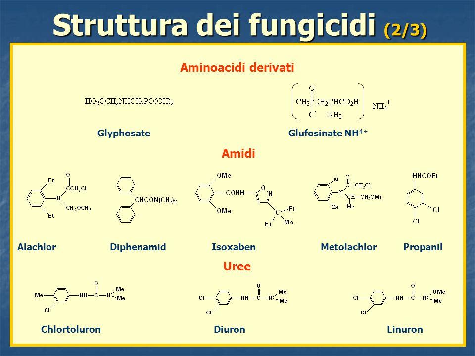 Struttura dei fungicidi (2/3)