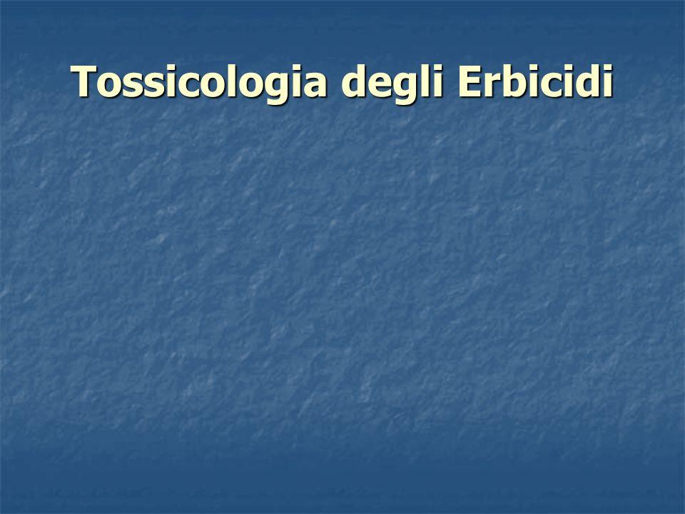 Tossicologia degli Erbicidi