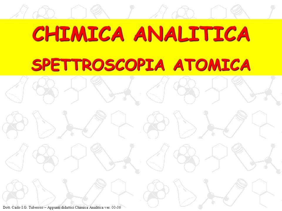 SPETTROSCOPIA ATOMICA