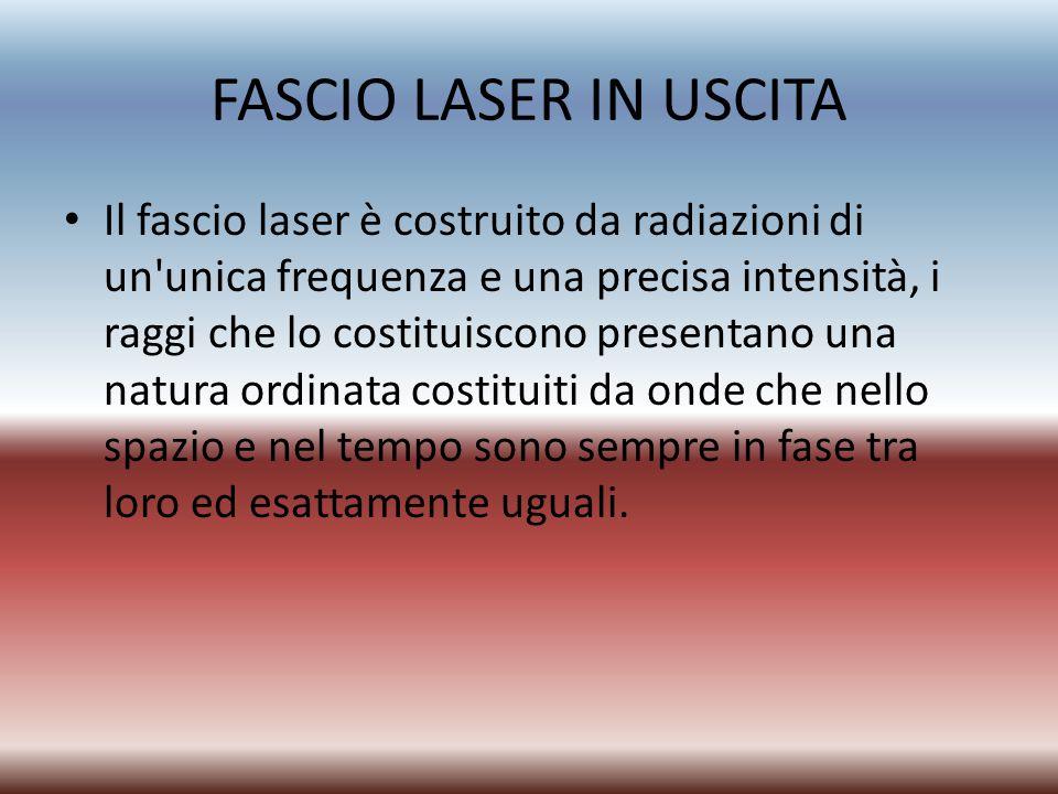 FASCIO LASER IN USCITA