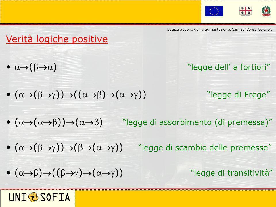 Verità logiche positive