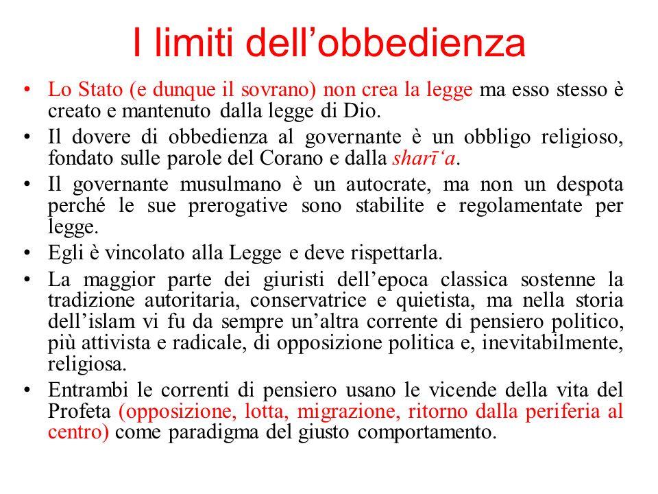 I limiti dell'obbedienza