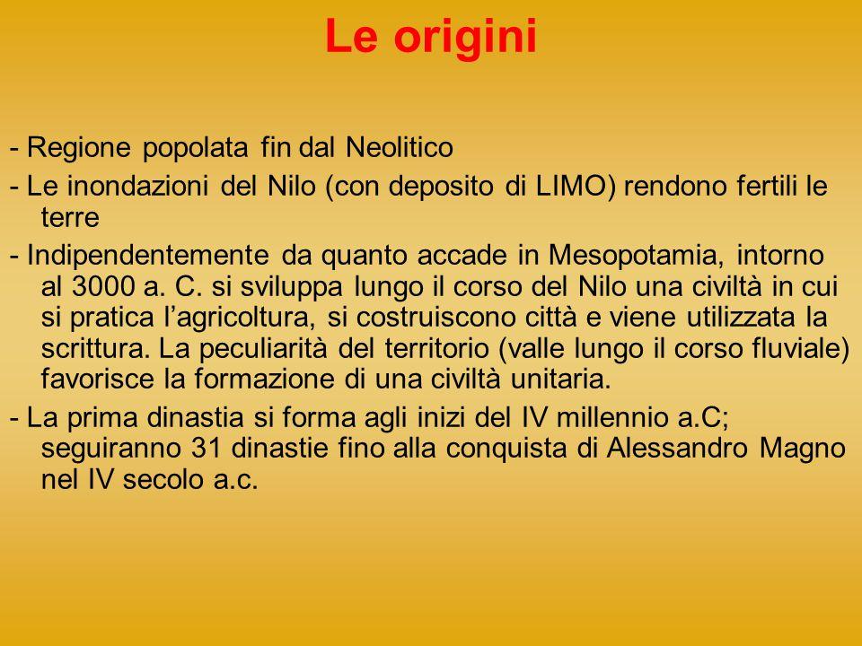 Le origini - Regione popolata fin dal Neolitico