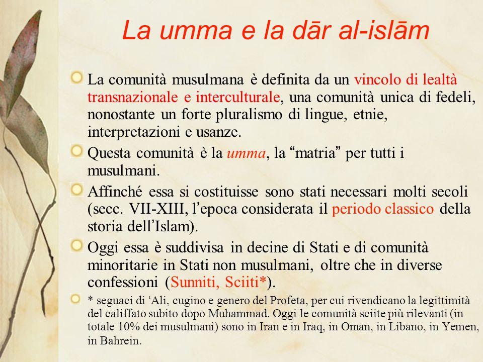 La umma e la dār al-islām