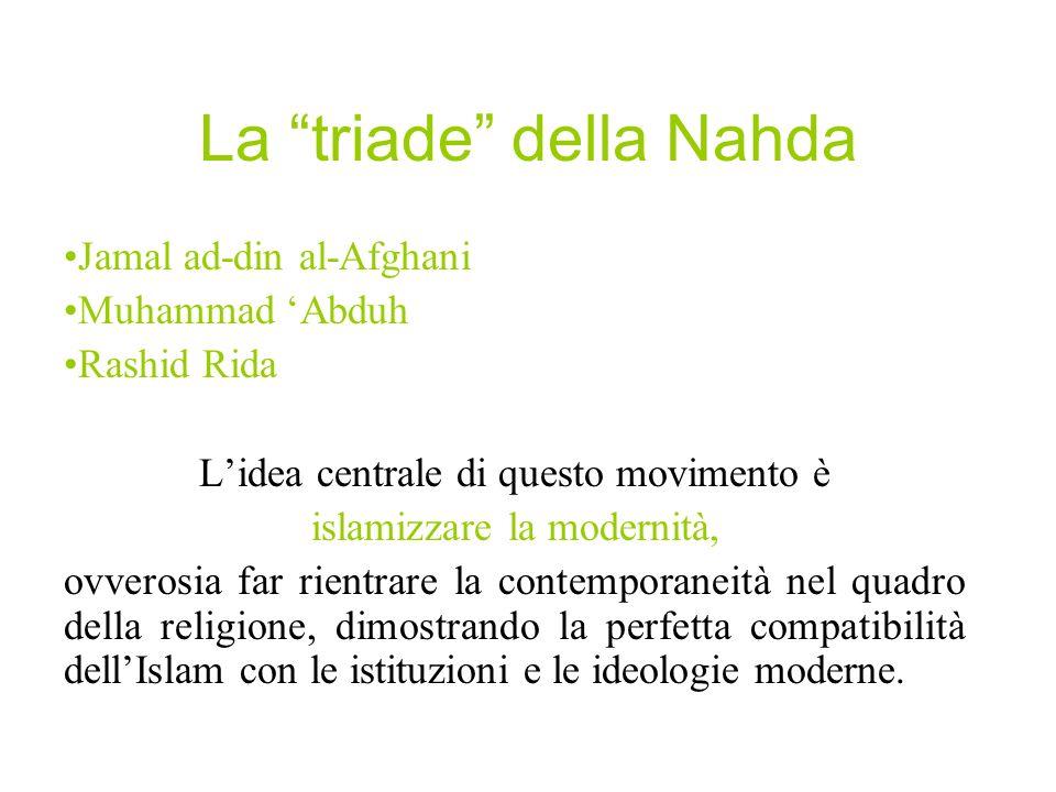 La triade della Nahda