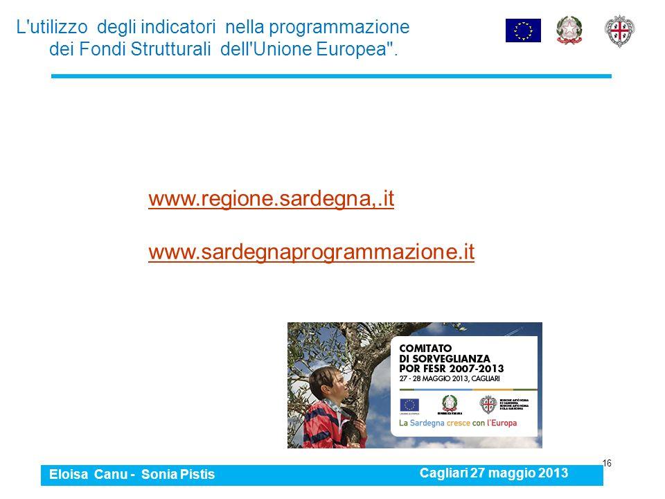 www.regione.sardegna,.it www.sardegnaprogrammazione.it