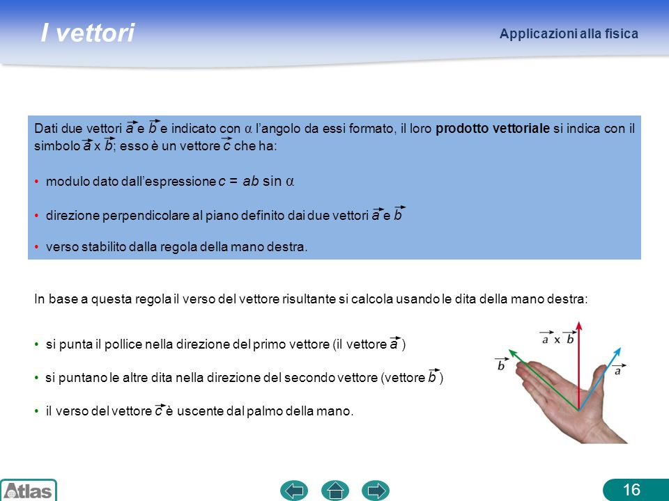 Applicazioni alla fisica