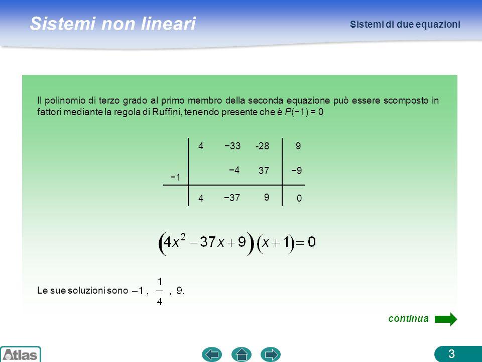 Sistemi di due equazioni