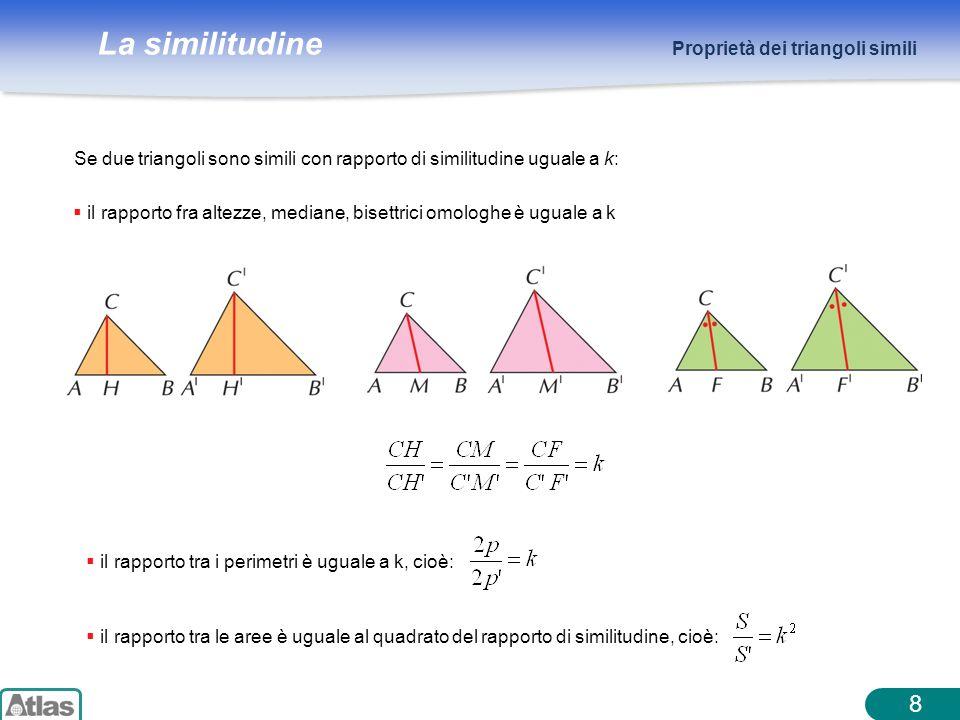 8 Proprietà dei triangoli simili