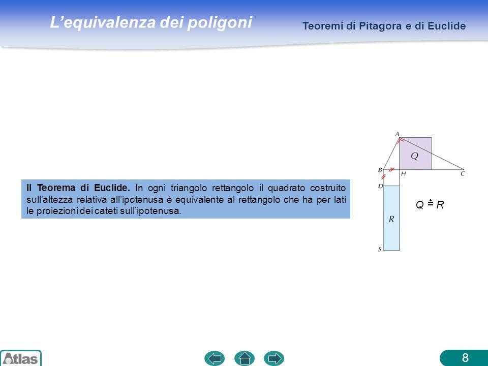 8 Teoremi di Pitagora e di Euclide Q R
