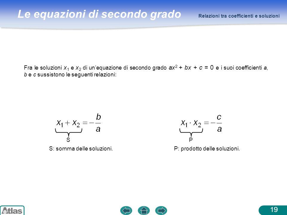 S: somma delle soluzioni. S