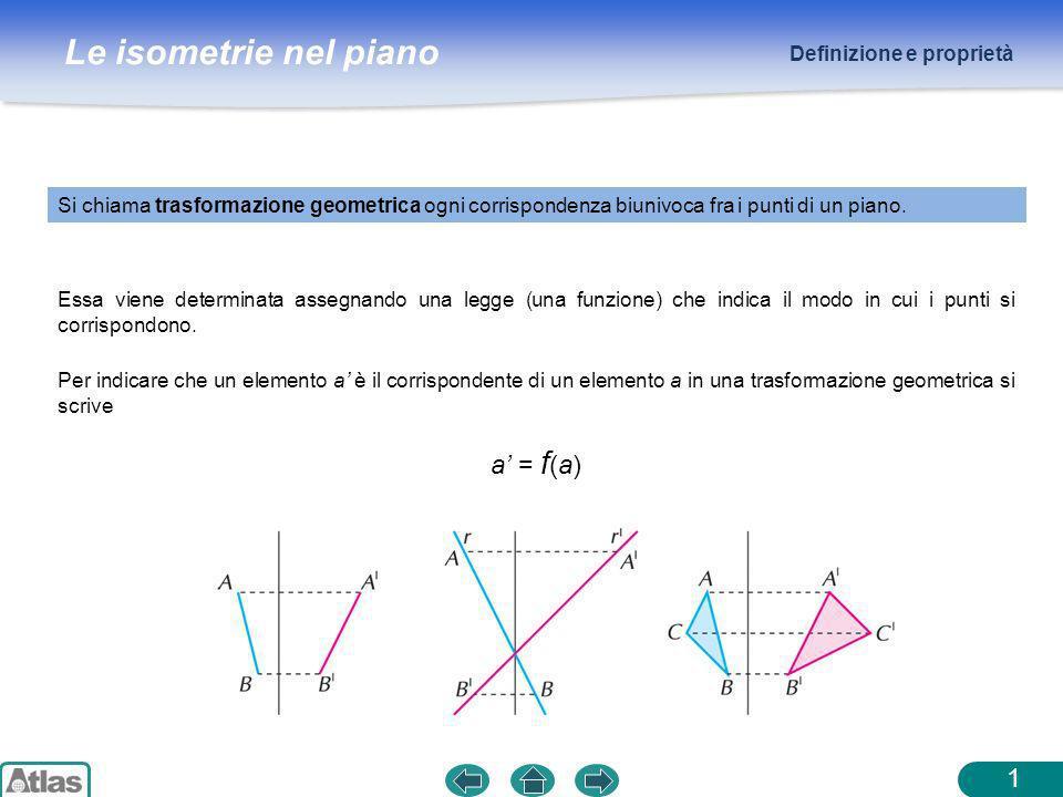 a' = f(a) Definizione e proprietà
