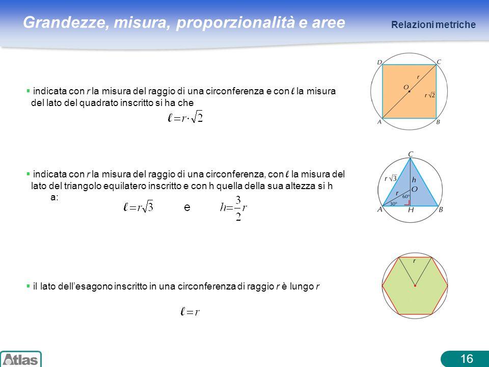 Relazioni metriche indicata con r la misura del raggio di una circonferenza e con l la misura. del lato del quadrato inscritto si ha che.