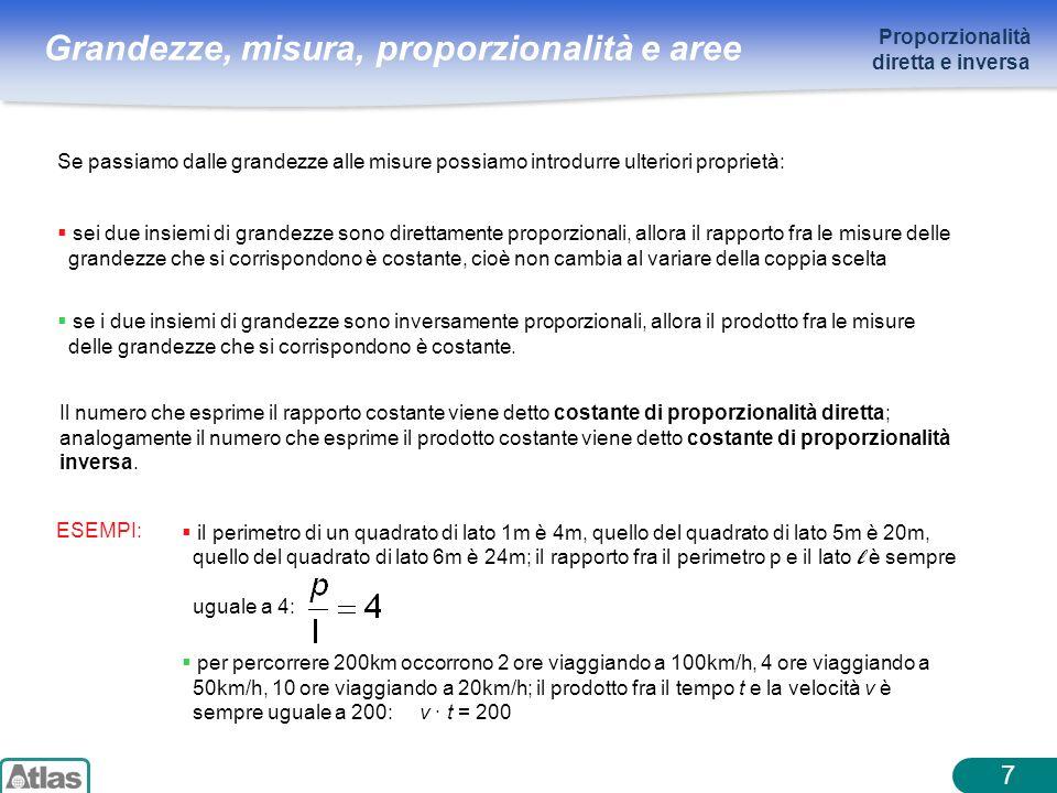 7 Proporzionalità diretta e inversa