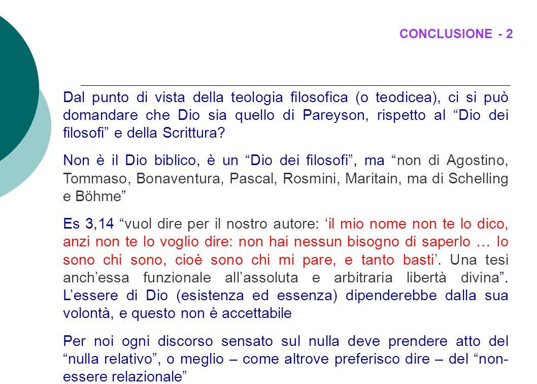 CONCLUSIONE - 2