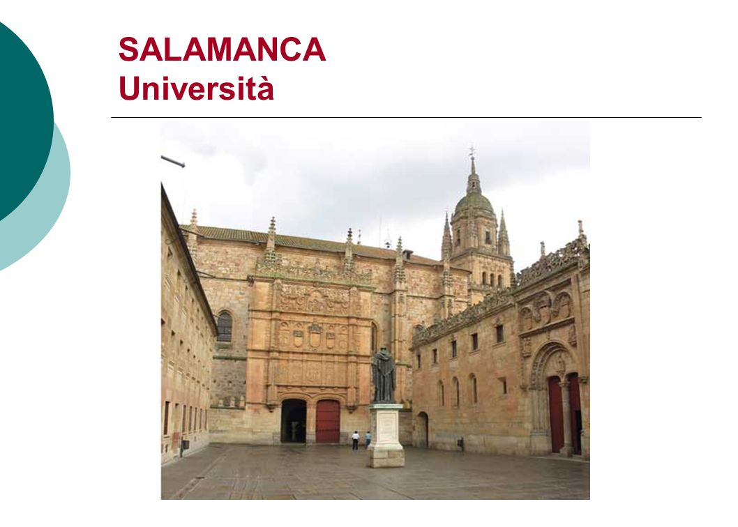 SALAMANCA Università