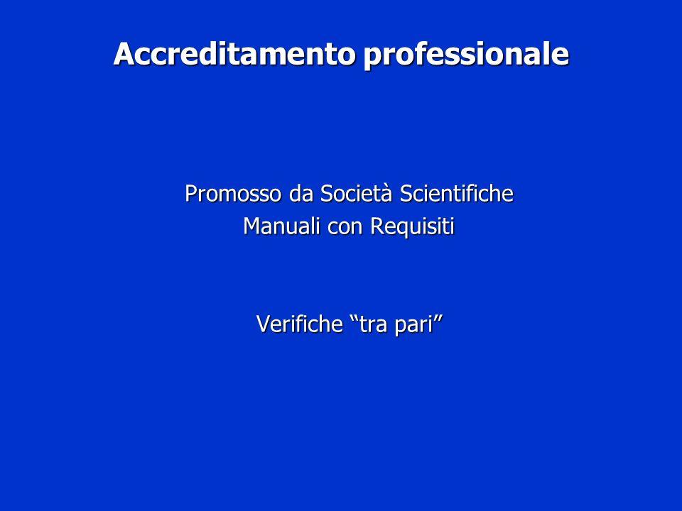 Accreditamento professionale