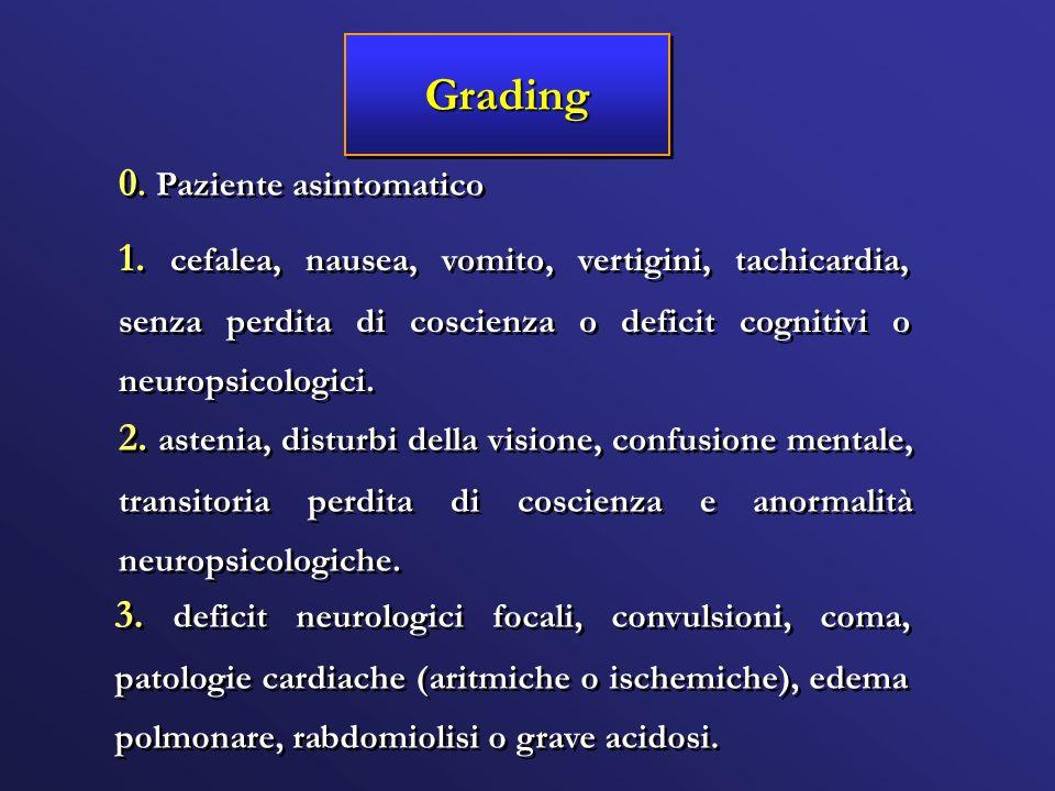 Grading 0. Paziente asintomatico