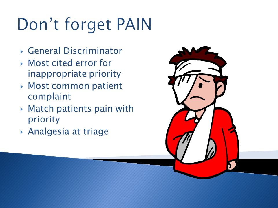 Don't forget PAIN General Discriminator