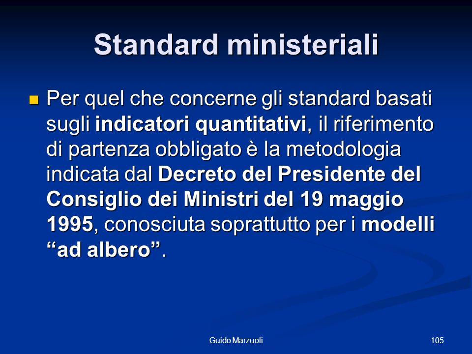Standard ministeriali