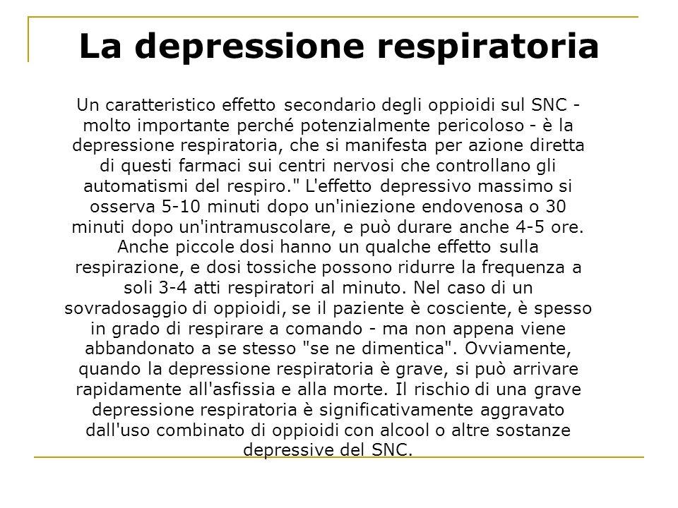 La depressione respiratoria
