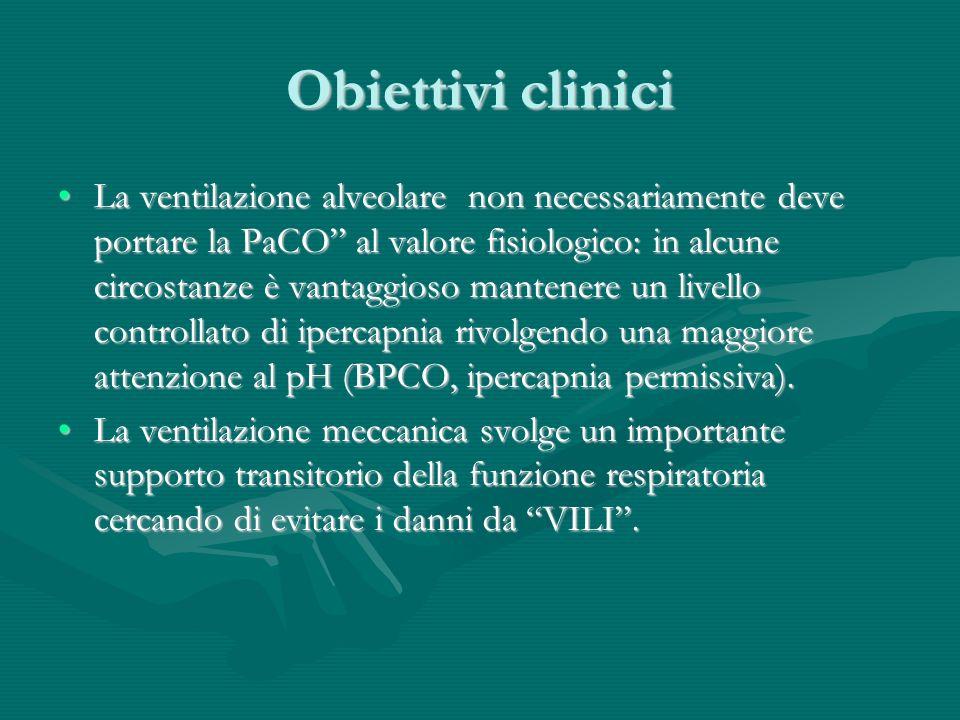 Obiettivi clinici