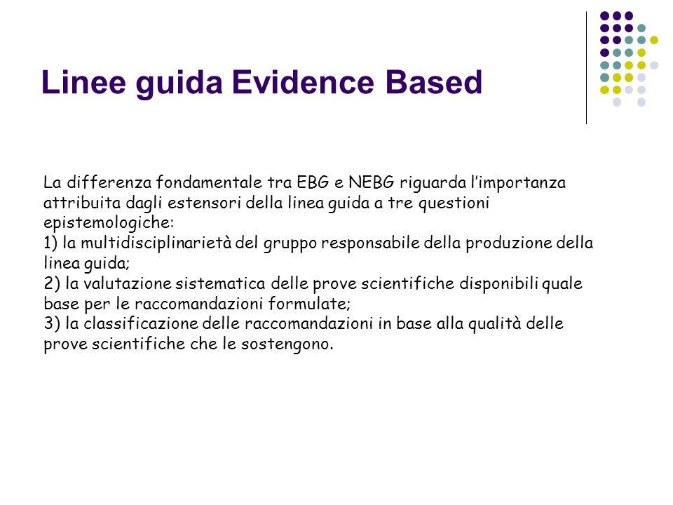 Linee guida Evidence Based