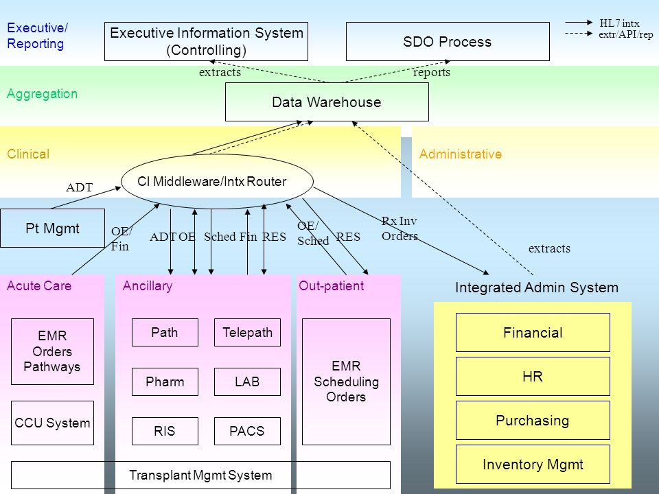 Executive Information System (Controlling) SDO Process