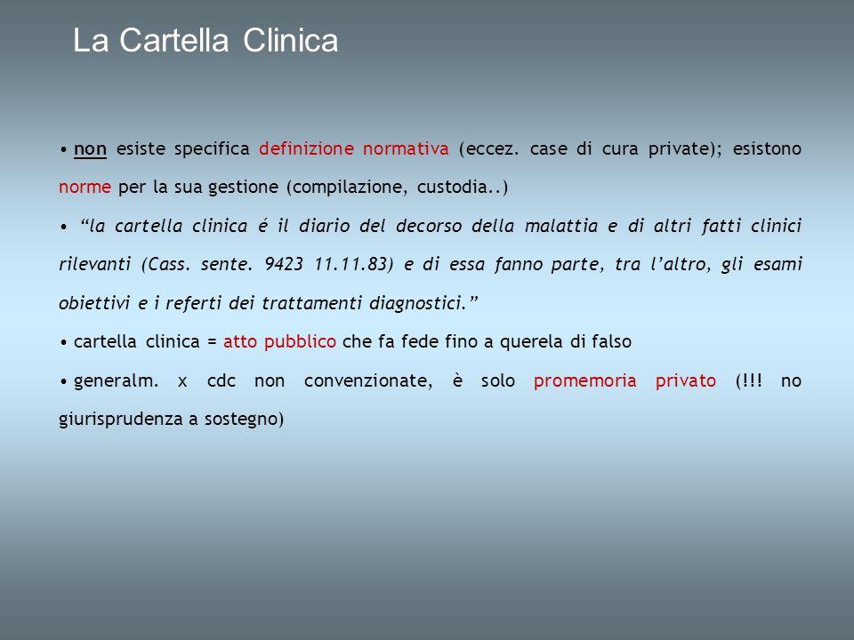 La Cartella Clinica