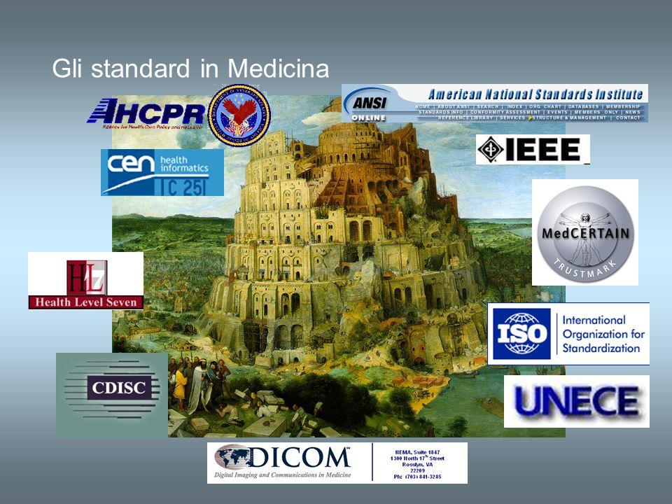 Gli standard in Medicina