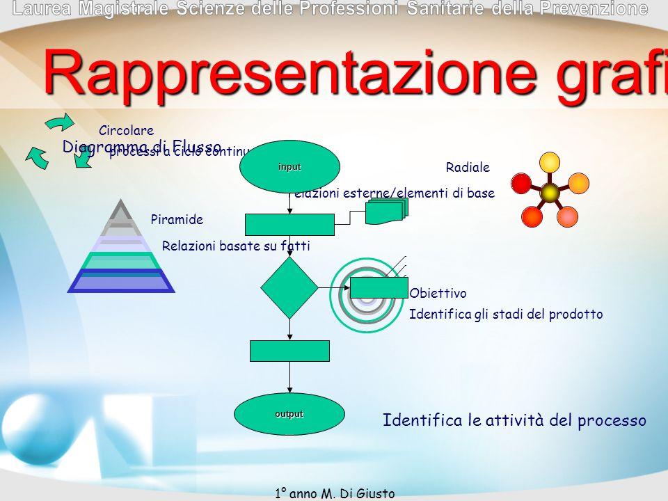 Rappresentazione grafica del processo