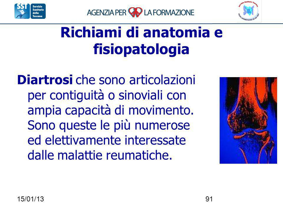 Richiami di anatomia e fisiopatologia