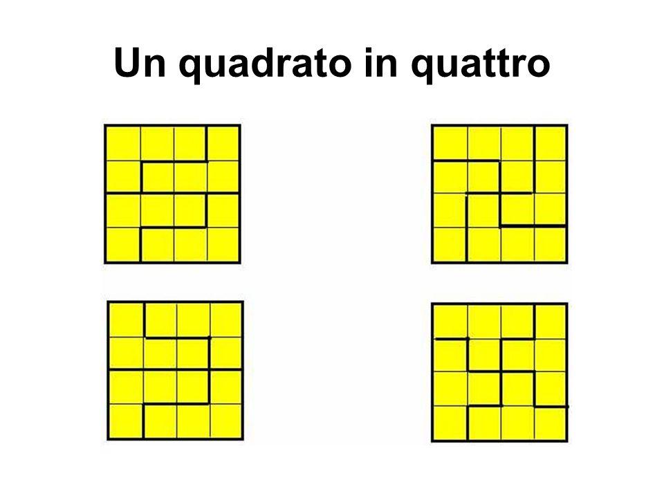 Un quadrato in quattro