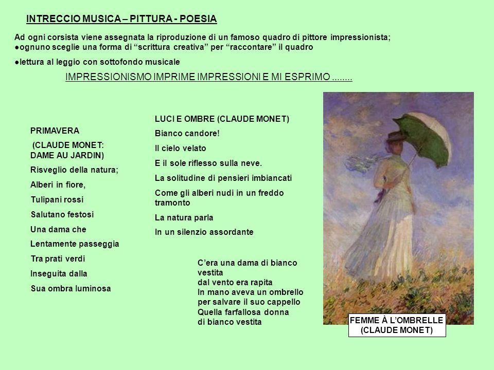 INTRECCIO MUSICA – PITTURA - POESIA