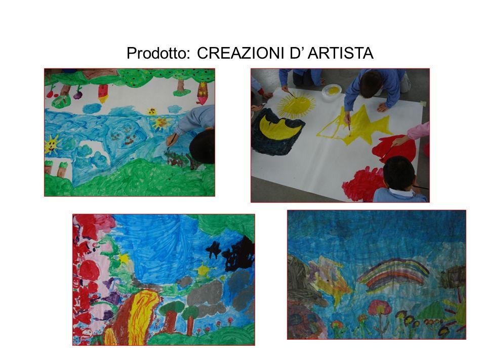 Prodotto: CREAZIONI D' ARTISTA