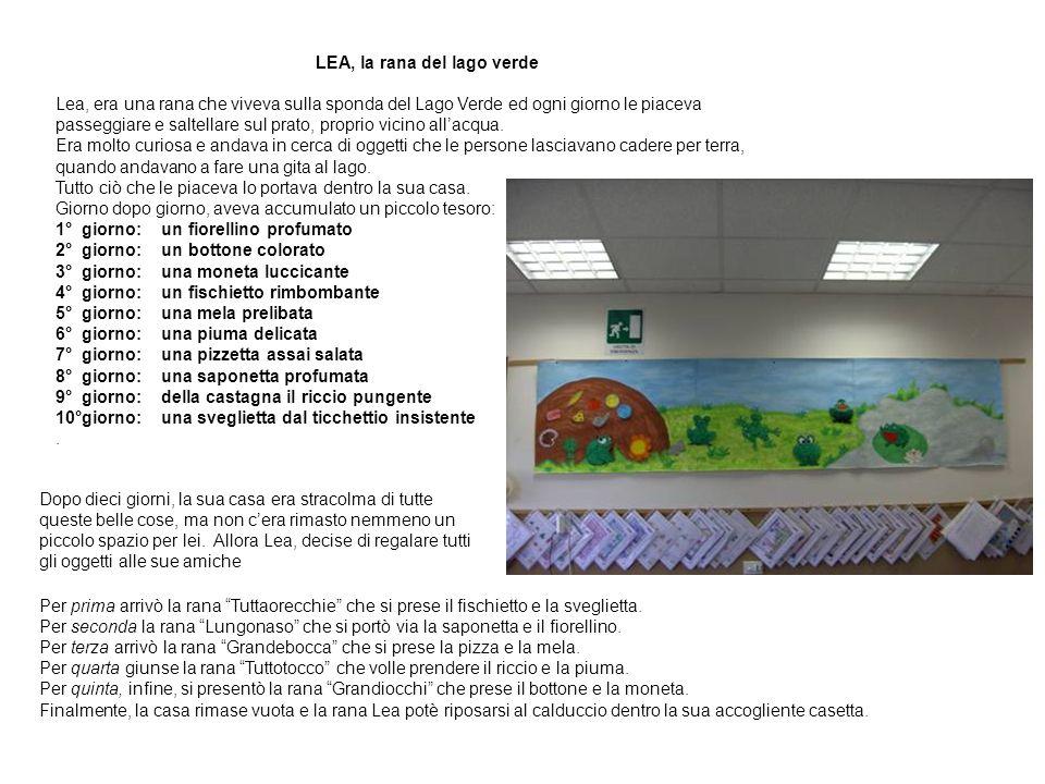 LEA, la rana del lago verde
