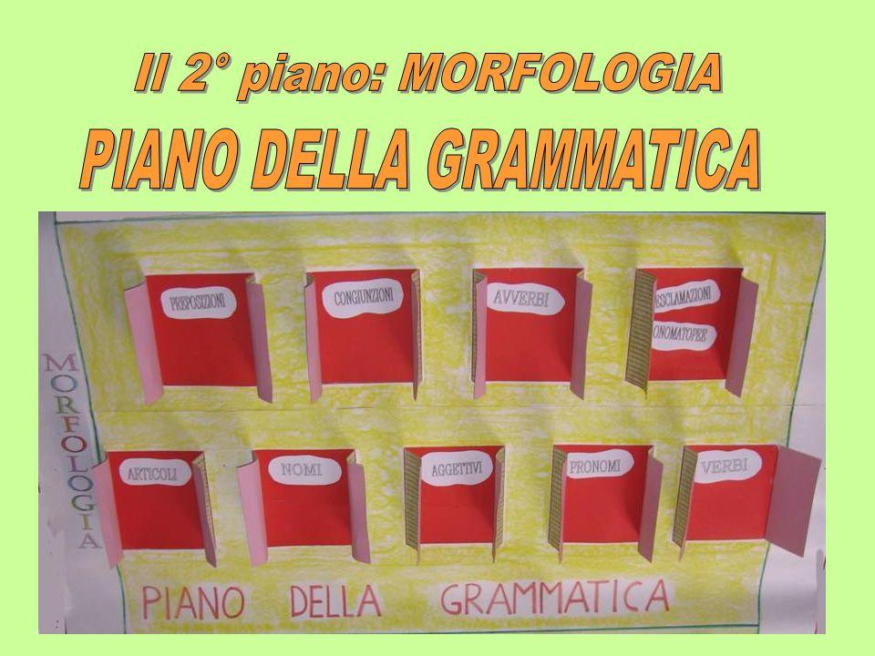 PIANO DELLA GRAMMATICA