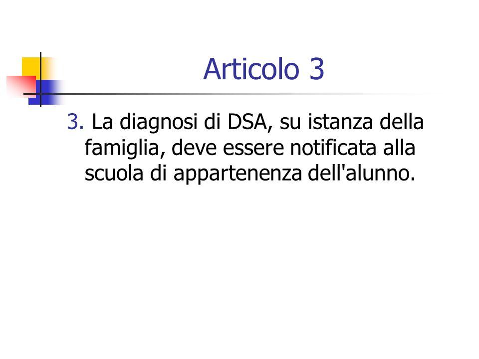 Articolo 3 3.